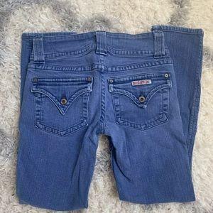 ***Authentic Size 25 Hudson Vintage Capri Jeans***